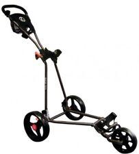 Longridge Eze Glider Golf Push Trolley - Black