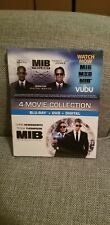 Men in Black 4-Movie Collection Blu-Ray + Dvd + Digital Same day Shipping read