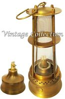 "12"" Antique Brass Oil Lamp Nautical Maritime Vintage Boat Ship Light Lantern"