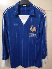 Retro vintage Adidas Jersey shirt trikot maglia France 1984