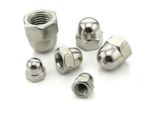 Stainless Steel Dome Acorn Nut A2 304 A4 316 M3 M4 M5 M6 M8 M10 M12 DIN 1587