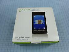 Sony Ericsson Xperia x8 e15i Noir! Sans Simlock! Excellent état! neuf dans sa boîte!