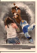 KOFI KINGSTON 2017 TOPPS WWE UNDISPUTED SILVER PARALLEL /50