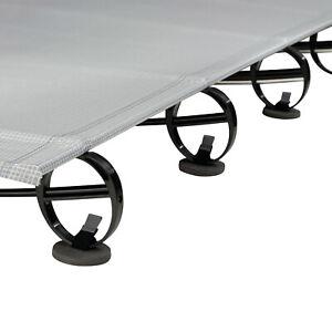 Thermarest Luxury Lite Cot Coasters For Adventure Gear Sleep Mat - Black