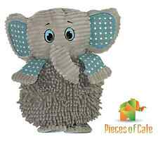 Baby Boo™ Grey Elephant 45cm Cuddly Soft Toy with Rattle FREE Postage
