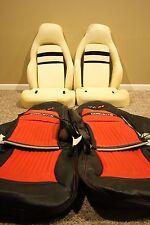 1997-2004 C5 Corvette Genuine Leather Sport Seat covers & Seat Foam Sets