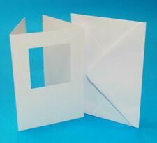 Blank Tri Fold Aperture Cards with Envelopes - choice of  Design & Size