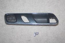 MERCEDES SLK DOOR HANDLE FRAME TRIM passenger right carbon fiber slk320 SLK230