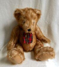 """Dan Dee Collector s Choice 12"""" Mohair Teddy Bear"""