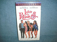 LOVE POTION #9 - VHS - SANDRA BULLOCK - TATE DONOVAN - NEW SEALED