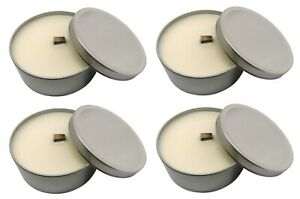 4 x Outdoor Wind Resistant Candles Eco Soy Wax Garden Candle Marschall Swedish