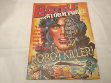 Vintage Comic Battle Stormforce 18th July 1987 Good Condition