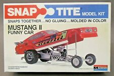 scarce 1979 Monogram 7574 MUSTANG II FUNNY CAR 1:32 model kit