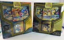 Pokemon TCG league battle decks Pikachu & Zekrom GX + Reshiram & Charizard GX