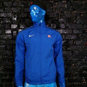 Slovakia Team Training Jacket With Zipped Blue Nike 411810-463 Mens Size S