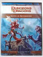 D&D 4th Edition Gates of Neverdeath WotC VG++ Erik Scott de Bie D&D 4e WotC