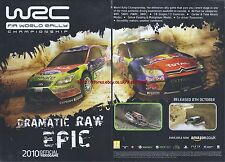 W2C Fia World Rally Championship 2010 Magazine 2 Page Advert #4676