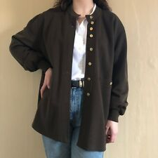 Sonia Rykiel, Women's, Cardigan, Brown, New Wool, Size L, Vintage, French