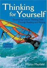 Thinking for Yourself: Developing Critical Thinking Skills Through Rea-ExLibrary