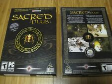 Sacred +Plus Pack Expansion (PC GAME) *** NEW *** For Win 98SE/ME/2000/XP