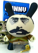 "DUNNY 3"" AZTECA SERIES CARLOS DUFOUR CHASE 1/50 KIDROBOT 2007 DESIGNER TOY VINYL"