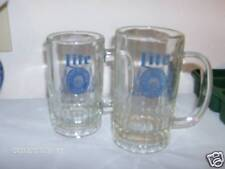 Two Miller Lite Beer Mugs Barware Drinkware Steins VGC