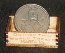 Dollhouse Miniature Out of This World Marfa Produce Crate 1:12 Scale / Texas