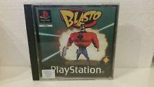 """PS1/PS2/PS3 Spiel""""Blasto"""" mit Anleitung -selten- rar"""