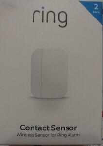 Ring Alarm Door/Window Contact Sensor (2-Pack) (2nd Gen) NEW SEALED