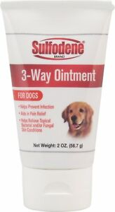 Sulfodene Brand 3-Way Ointment for Dogs Free Shipping