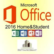 Microsoft Office 2016 Home and Student Lizenzschlüssel MS Office H&S 2016 1PC