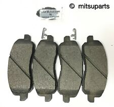 GENUINE MITSUBISHI  FRONT BRAKE PAD SET Lancer EXCEPT TURBO