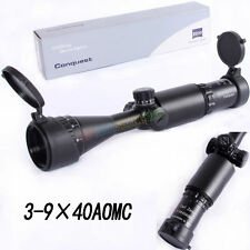 3-9X40 AOMC Matt Scope Illuminated Red/Green Duplex Reticle Air Gun Rifle Scope