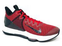 Nike Lebron Witness 4 IV Black/Red Mens Basketball Shoes Size 10.5 BV7427-002