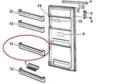 Dometic Refrigerator and Freezer Parts & Accessories for