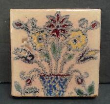 Solon & Schemmel Tile Floral California