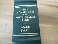 The Adventures of Huckleberry Finn  Mark Twain 1979 Franklin Library Leatherette