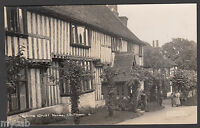 Postcard Chilham near Canterbury Kent house Robins Croft old RP by C H Ferris PO