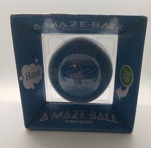 ThinkGeek A-Maze-Ball Puzzle 3D Ball Hard Maze Game Blue