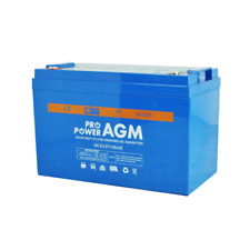 130AH 12V AGM GEL SEALED DEEP-CYCLE RECHARGEABLE BATTERY CARAVAN 4WD MARINE