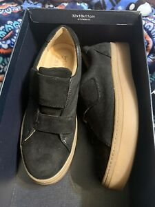 Naturalizer Charlie Leather Shoes 6 Black