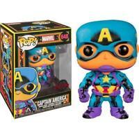 Funko POP! Marvel #648: Captain America BLACK LIGHT Special Edition Vinyl Figure