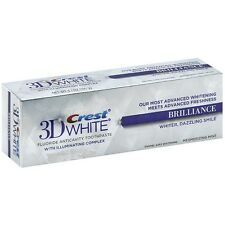 Crest 3D White Fluoride Anticavity Toothpaste 0.85 oz (Pack of 2)