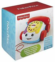 Fisher-Price Chatter Telephone Baby Fun Ringing Sounds Classic Pull Toy Fun