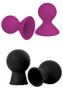 Dual Masseuse Silicone Inverted Nipple Care Suckers x 2 Pack - Soft & Flexible