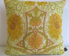Cushion Cover Vintage Morris Sanderson Kew Linen (Rare) & Gold Velvet Fabric