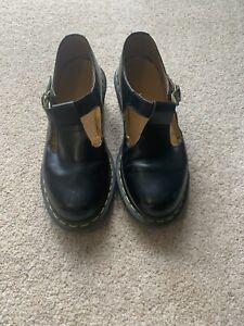 Dr Marten Sophia Size 6 T Bar Shoes