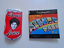 Bruce Springsteen / Bruce Juice & Asbury Park / Pins,Badges / Exc. new cond.