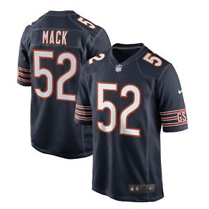 Khalil Mack Chicago Bears Nike Youth Game Jersey – Navy