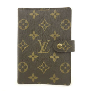 100% Authentic Louis Vuitton Monogram Agenda PM Notebook Cover /70154